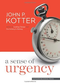 Complacency Post - Kotter Book Cover