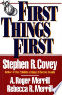 First Things First Book Cover