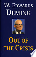 Out Of The Crisis Book Cover
