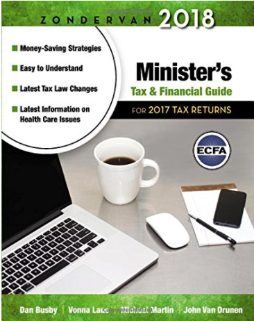 Minister's Tax and Financial Guide Book Cover