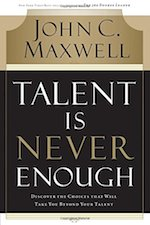Talent Is Never Enough Book Cover