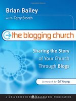 The Blogging Church Book Cover
