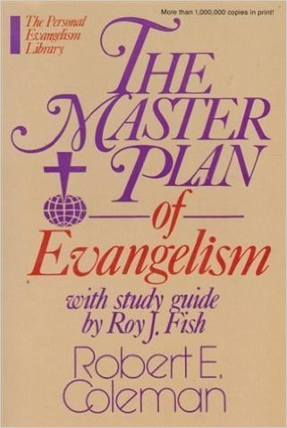 The Master Plan Of Evangelism Book Cover