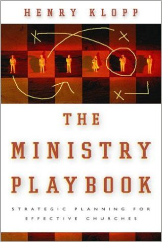 The Ministry Playbook Book Cover